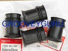 HONDA CB750K NEW GENUINE Carburetor Air Box Intake Rubbers Set 17253-341-300