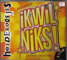 De Heideroosjes-Ik Wil Niks cd maxi single