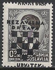 Croatia 1941 MI 9 Shifted Ovpt  MNH  VF