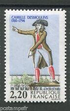 FRANCE, 1989, timbre 2594, C. DESMOULINS, CELEBRITE REVOLUTION, neuf**