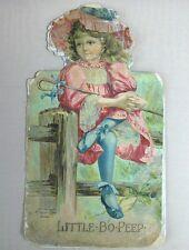 RARE CUT OUT EDITION LITTLE BO PEEP COPYRIGHT 1897