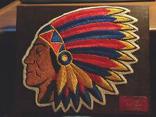 Vintage Redskin Indian Headress plaque Port Clinton Redskins alumni