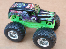 Hot Wheels Monster Jam BLACK GRAVE DIGGER Loose 1:64 Scale