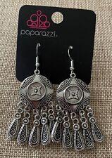 Paparazzi Accessories Silver Dangle Earrings