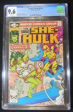 Savage She-Hulk #18 CGC 9.6 NM+