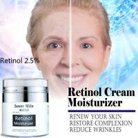 Tagescreme 2.5% Vitamin A Anti Aging Cream Retinol Creme 5% Hyaluronsäure
