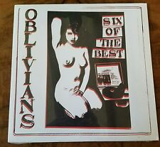 """●OBLIVIANS●SIX OF THE BEST●SEALED●10"""" EP●SEALED●MINT●SFTRI 383●"""