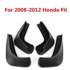 4X JDM Mud Flaps Splash Guards Mudguards Fender For Honda FIT / JAZZ 2008-2012