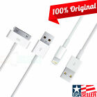 Original USB to Apple-Lightning/30-Pin Data Cable Charger for iPad 1/2/3/4/5/6/7
