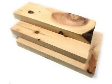 1kg Zirbenholz, gehobelte Bretter Zirbemassiv Basteln DIY Holzset Drechselholz