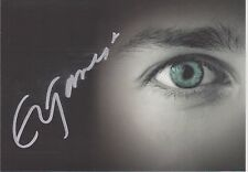 SIGNED AUTHOR E L JAMES PHOTO CARD AUTOGRAPHED FIFTY SHADES OF GREY