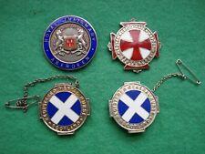 More details for scotland 4 silver nurses badges mental registered medico phsch m morrison 1939