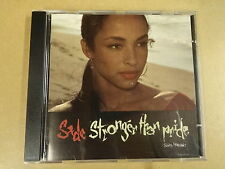 CD / SADE - STRONGER THAN PRIDE