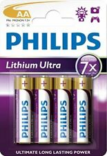 Philips Lithium Ultra 4x AA Batteries
