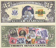 100 Modern Mail Postal History Novelty Money Bills Lot