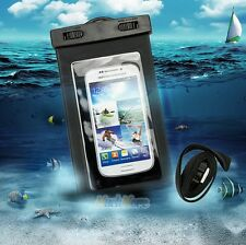 2 x Waterproof Underwater Pouch Dry Bag Case For iPhone Cell Phone Touchscreen