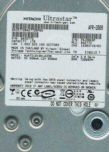 """Hitachi Ultrastar 0A35772 1TB 7.2K RPM 3Gbps SATA 3.5"""" LFF Drive HUA721010KLA330"""
