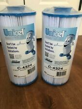 2 Pack UNICEL C-4324 Filbur FC-0187 SPA FILTER CARTRIDGE
