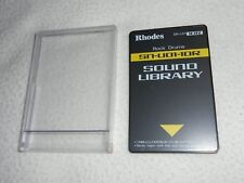 RHODES ROLAND CARD SOUND LIBRARY SN-U01-10R ROCK DRUMS U20,D70,MV30