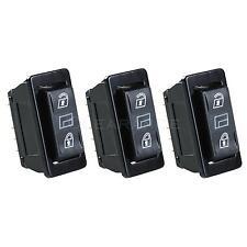 3 in 1 Universal Car DPDT Momentary Power Window Switch Power Door Lock Control
