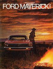 Ford Maverick 1969 USA Market Foldout Sales Brochure