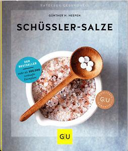 Schüßler-Salze, das Basisbuch, GU, ungelesen, Ladenpreis 14,99 € Auflage 2018/19