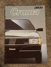 Prospekt Brochure Fiat Croma 9/1987