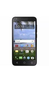 Alcatel Raven LTE 16GB Smartphone Black TracFone PREPAID Refurbished Grade A