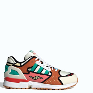 Adidas ZX 10000 Simpsons KRUSTY BURGER Shoes Sneakers H05783 Sz4-11