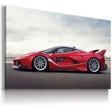 Super Sport FERRARI FXX RED new Cars Large Wall Art HD Canvas Picture 30x20