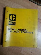 Caterpillar 1674 Diesel Truck Engine Workshop Shop Service Repair Manual 94B
