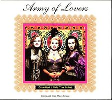 ARMY OF LOVERS - CRUCIFIED / RIDE THE BULLET - USA CD MAXI DIGIPACK