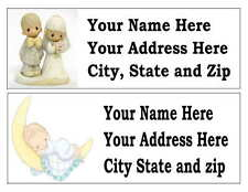 30 PRECIOUS MOMENTS RETURN ADDRESS LABELS MANY CHOICES