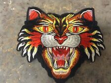 Big Angry Cat Tiger Iron On Patch gucci