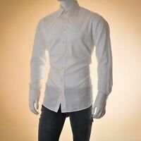 ETON top casual shirt for mens white long sleeve formal business button Genuine