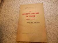 1939.Question italienne en Tunisie.Delbos