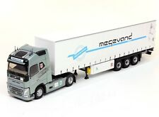 "ELIGOR 1/43 CAMION VOLVO FH4 GLOBETROTTER ""Transports MEGEVAND freres 74 "" !!"