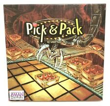 Z-Man Boardgame Pick & Pack Box ZM64045 Simon Hunt Strategy Table Game