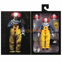 """NECA IT Pennywise Clown 1990 Version 2 Ultimate 7"""" Action Figure 1:12 Collection"""