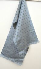 Luscious Vintage Silk Satin Mens Scarf With Bees Tt35