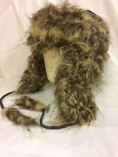 Unisex Men's Women's Winter Trapper Hats faux fur
