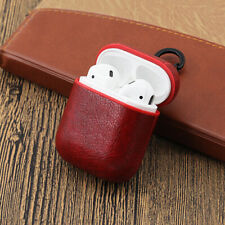 Transparent Protective/PU Leather Hard Cover Case for Apple AirPods 1 2 Earpods