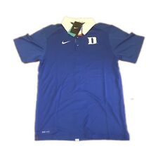 0c93981f Duke Blue Devils Elite Nike Coaches Dri-fit Men's Polo Shirt Size Small