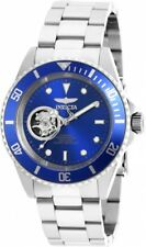 New Mens Invicta 20434 Pro Diver Automatic Blue Dial Stainless Steel Watch