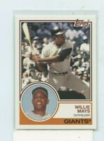 WILLIE MAYS 2015 Topps Archives #300 San Francisco Giants