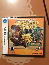 Final Fantasy Fables Chocobo Tales Nintendo DS Brand New