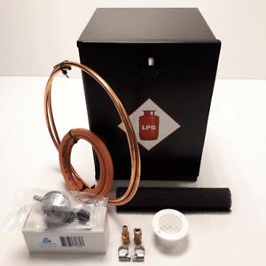 GAS LOCKER + BUTANE REGULATOR SUITABLE FOR 907 CAMPING GAS BOTTLE