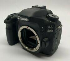 Canon EOS 80D 24.2 MP Digital SLR Camera Body Only - WiFi / NFC - Touchscreen