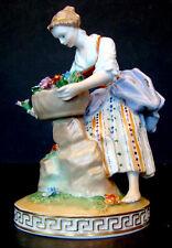ANTIQUE Vintage CARL THIEME Porcelain POTSCHAPPEL DRESDEN GERMANY Figurine