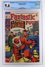 Fantastic Four #91 -NEAR MINT- CGC 9.6 NM+ Marvel 1969 - A Skrulls App!!